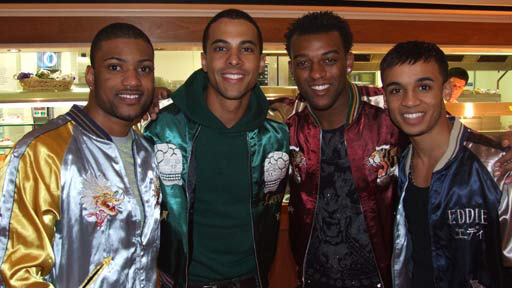 Suka Jackets worn by JLS band