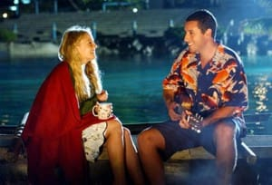 Adam Sandler in Hawaiian Shirt