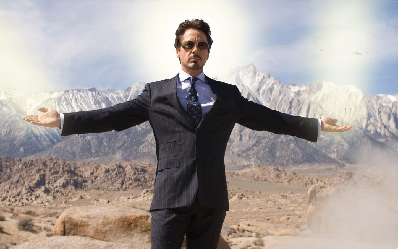 Robert Downey Jr in a Bespoke Suit