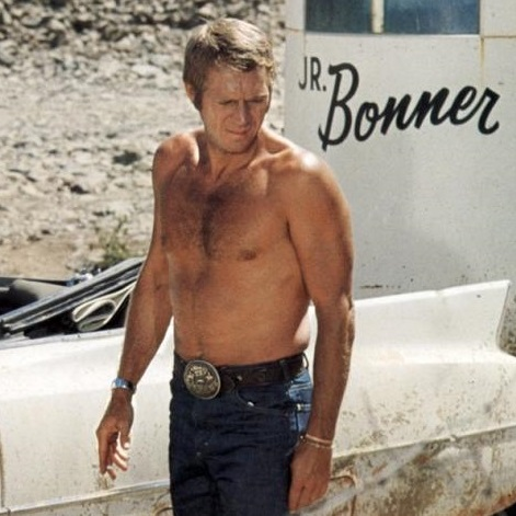 Steve McQueen as Junior 'JR' Bonner