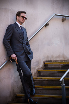 Colin Firth in a Bespoke Suit
