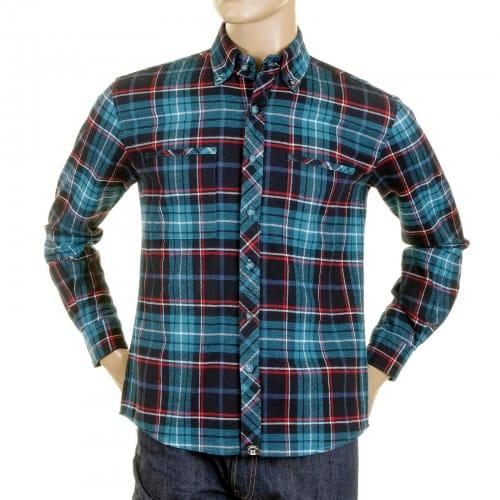 Turquoise Plaid Shirt