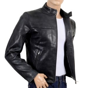 Black Leather Jacker from RMC Jeans