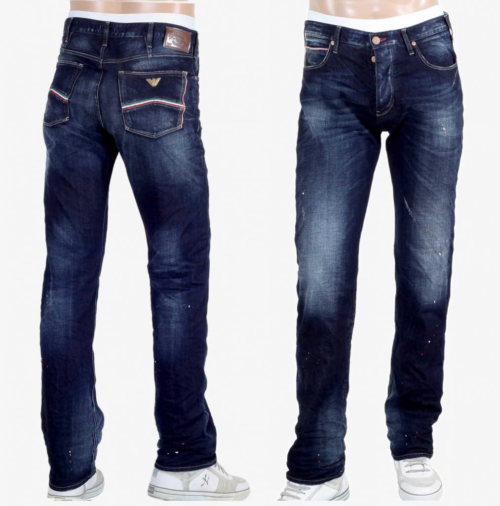 Regular fit jeans by Armani