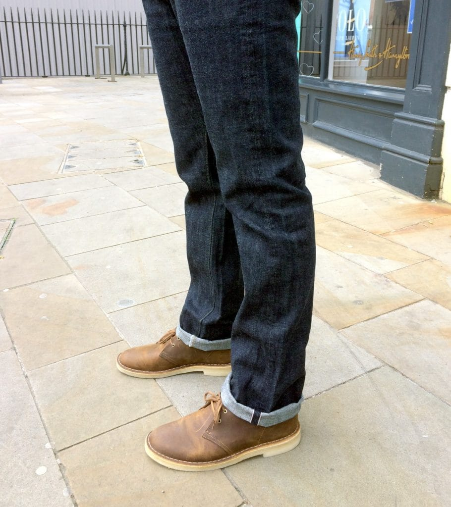 Clarks Originals Desert Boots with Denim Jeans