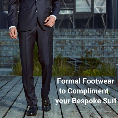 Formal Footwear to Compliment your Bespoke Suit