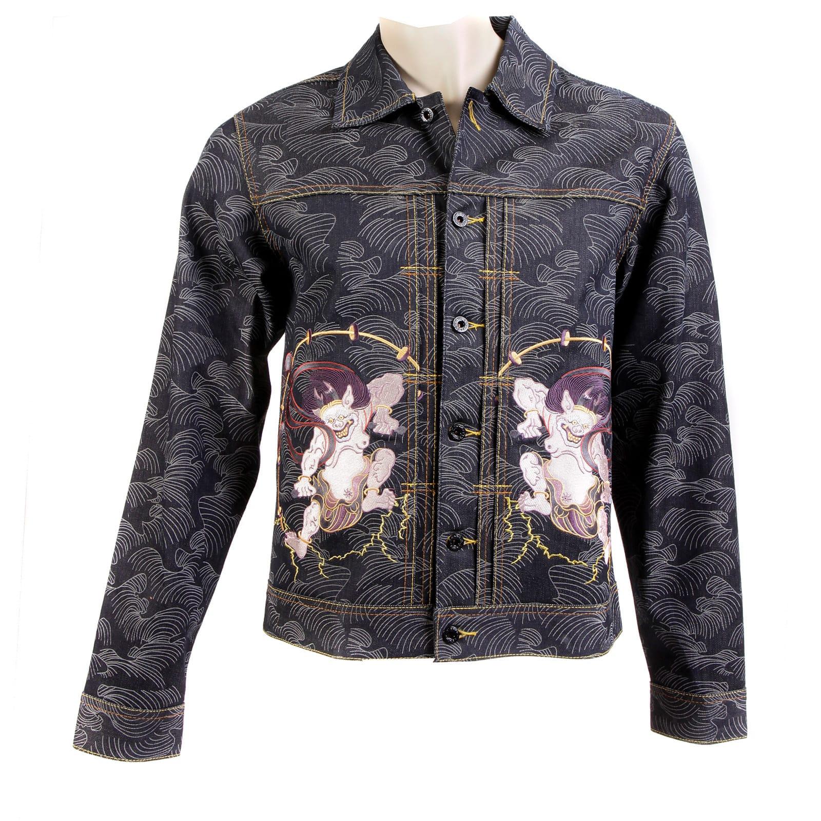 Fujin and Raijin RMC Denim Jackets