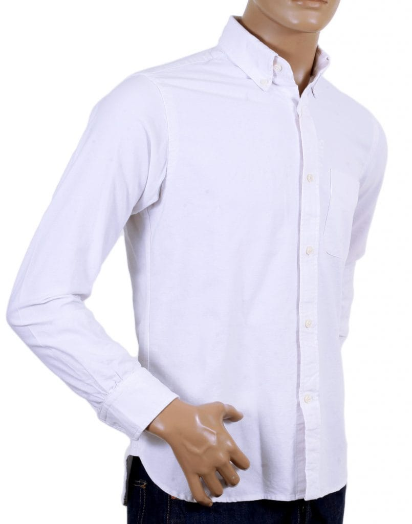 Sugarcane oxford shirt in White