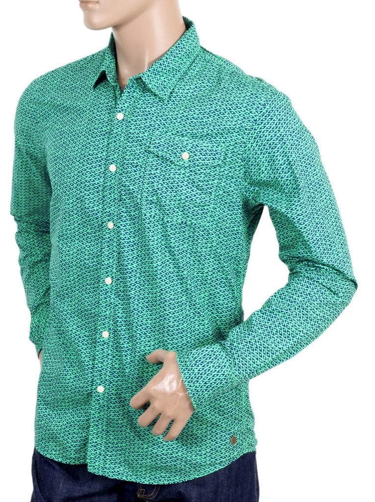 Mens Green Shirts