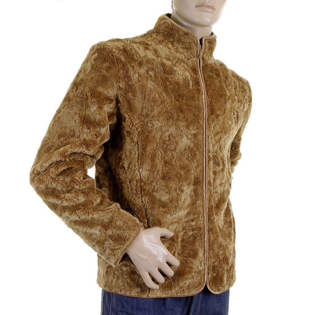 RMC Jeans Faux Fur Jacket