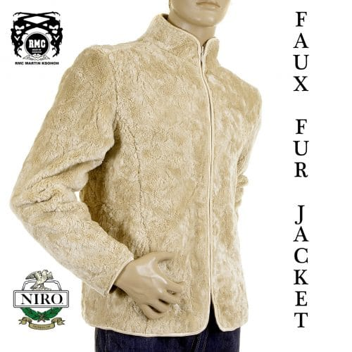 Faux fur jacket from RMC jeans