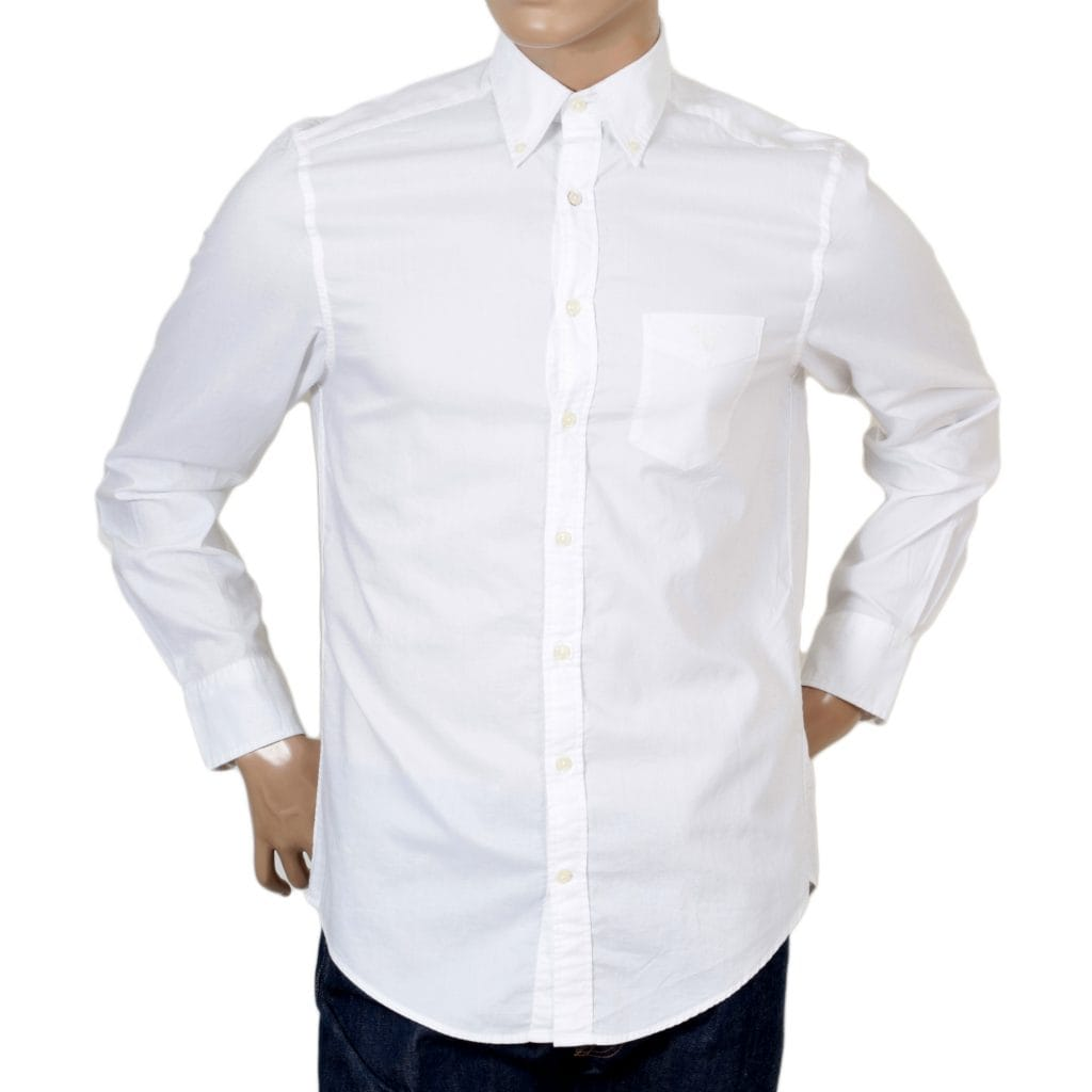 Men's Elegant White Shirt