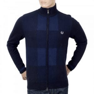 Navy Knitwear from Fred Perry