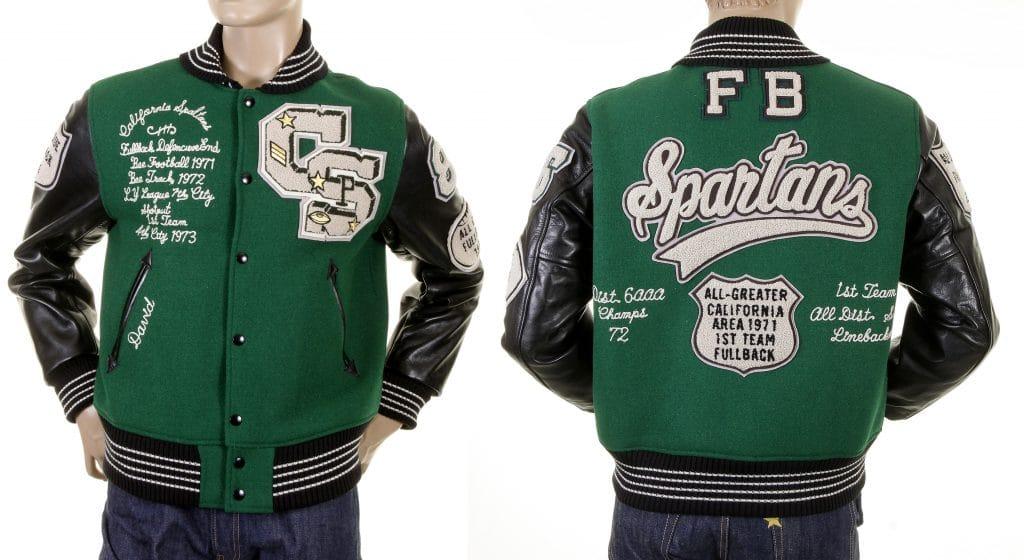 Men's Letterman Jacket from Whitesville