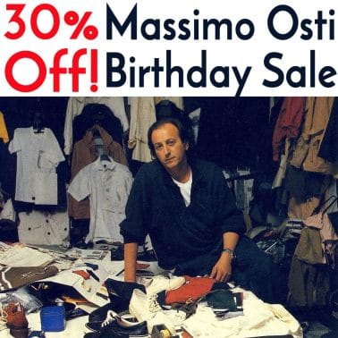 Massimo Osti Birthday Sale