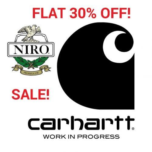 Carhartt 30% Off