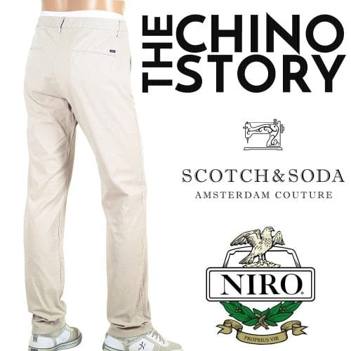 Scotch and Soda Chinos