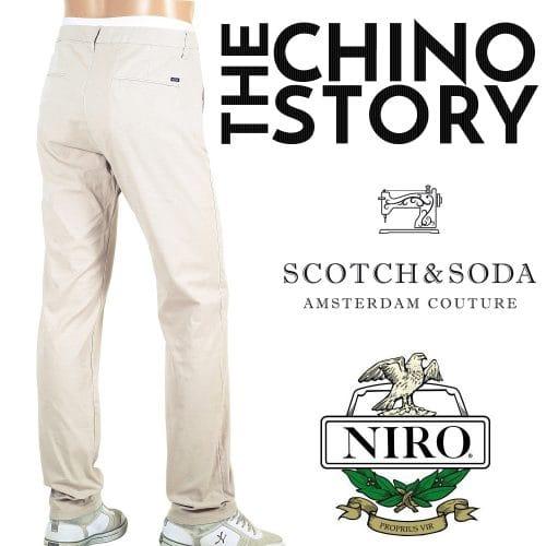 Scotch and Soda Chinos
