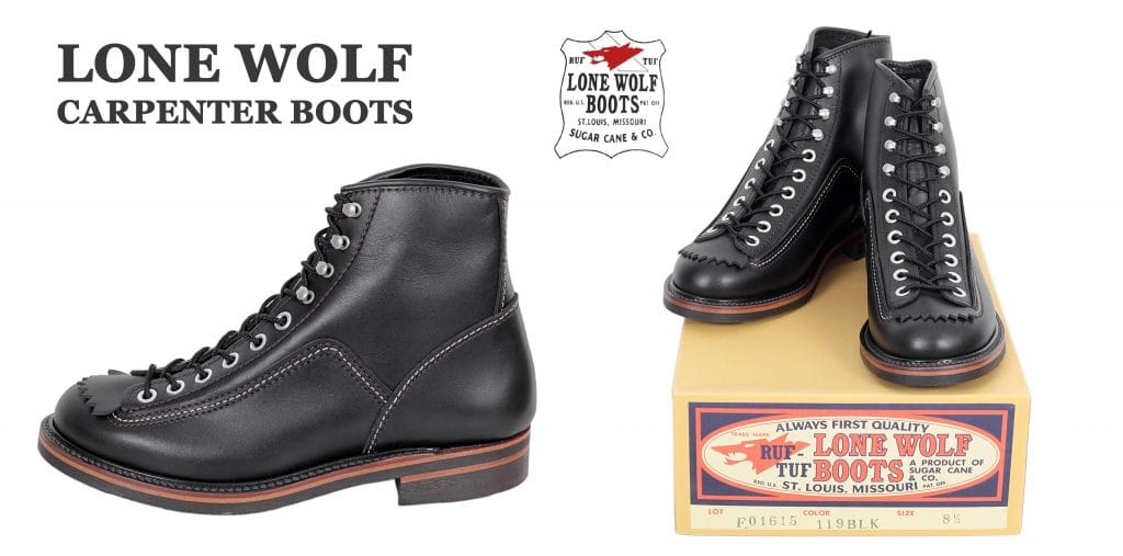 Lone Wolf Carpenter boots for men