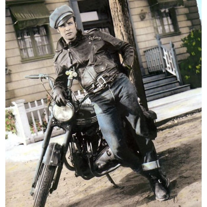 Marlon Brando in Wild One