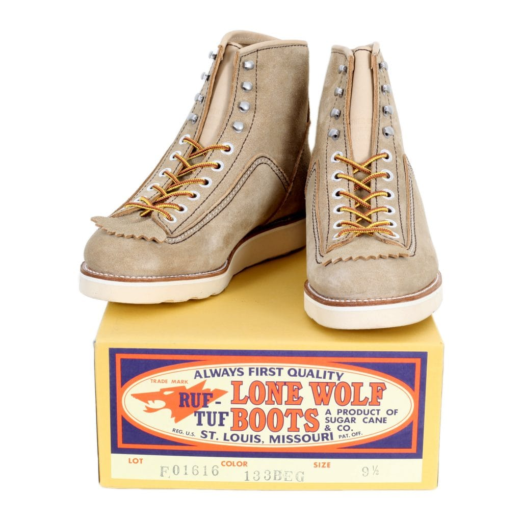 Beige Hunter boots from Lone Wolf