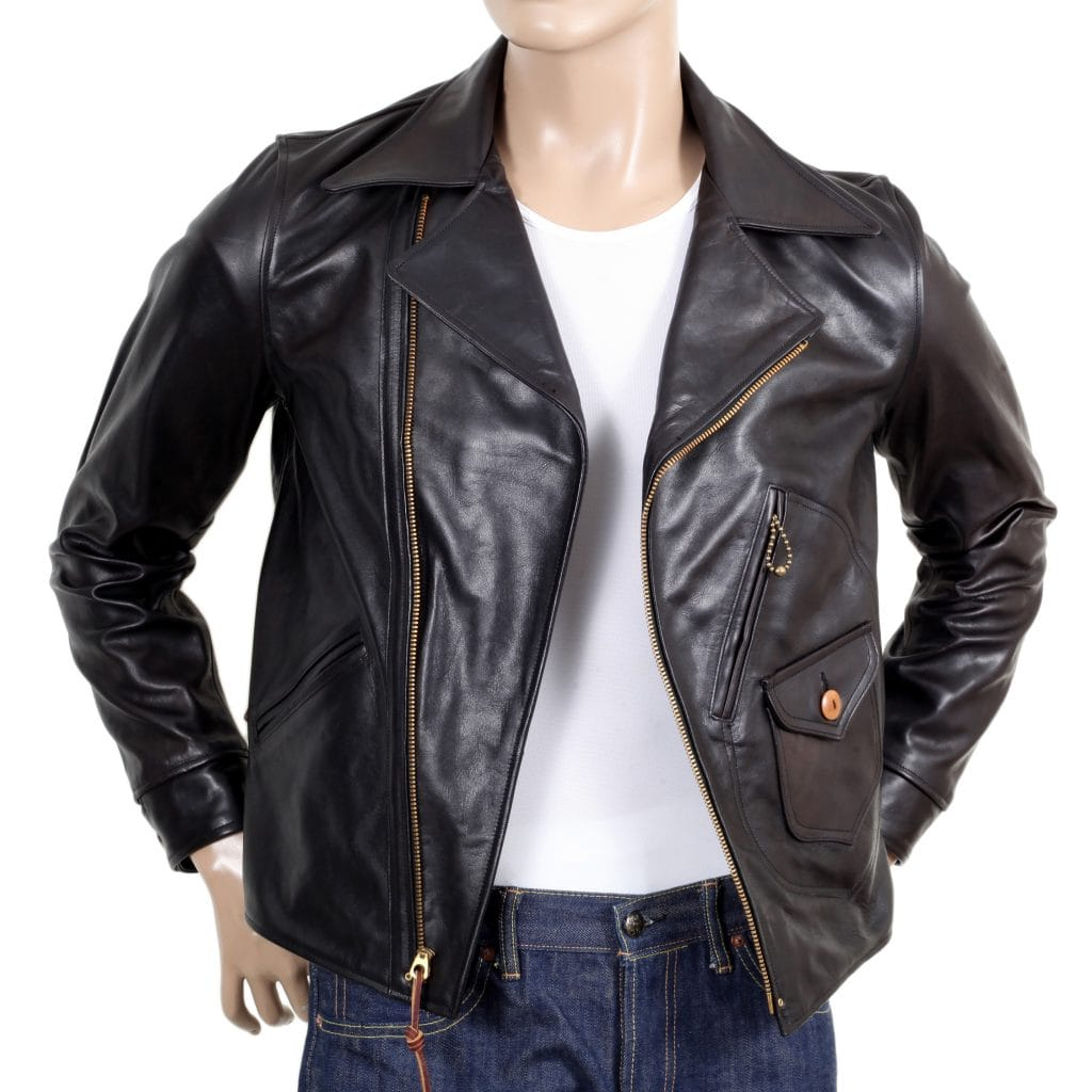Sugarcane Aviator leather jacket