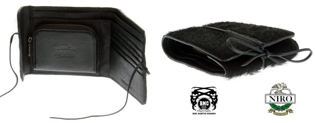 Italian Leather Wallet in Black