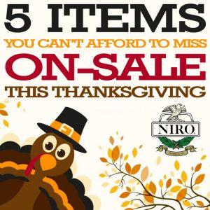 Thankgiving Sale