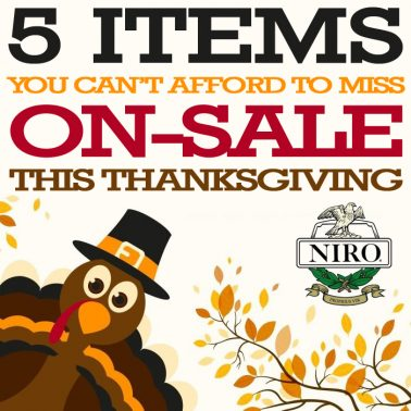 5 Items You Can't Afford to Miss On-Sale this Thanksgiving