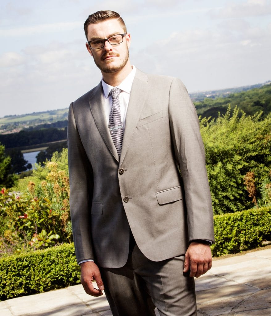 Men's Grey Bespoke Suit