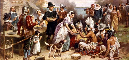 First Thanksgiving in the US