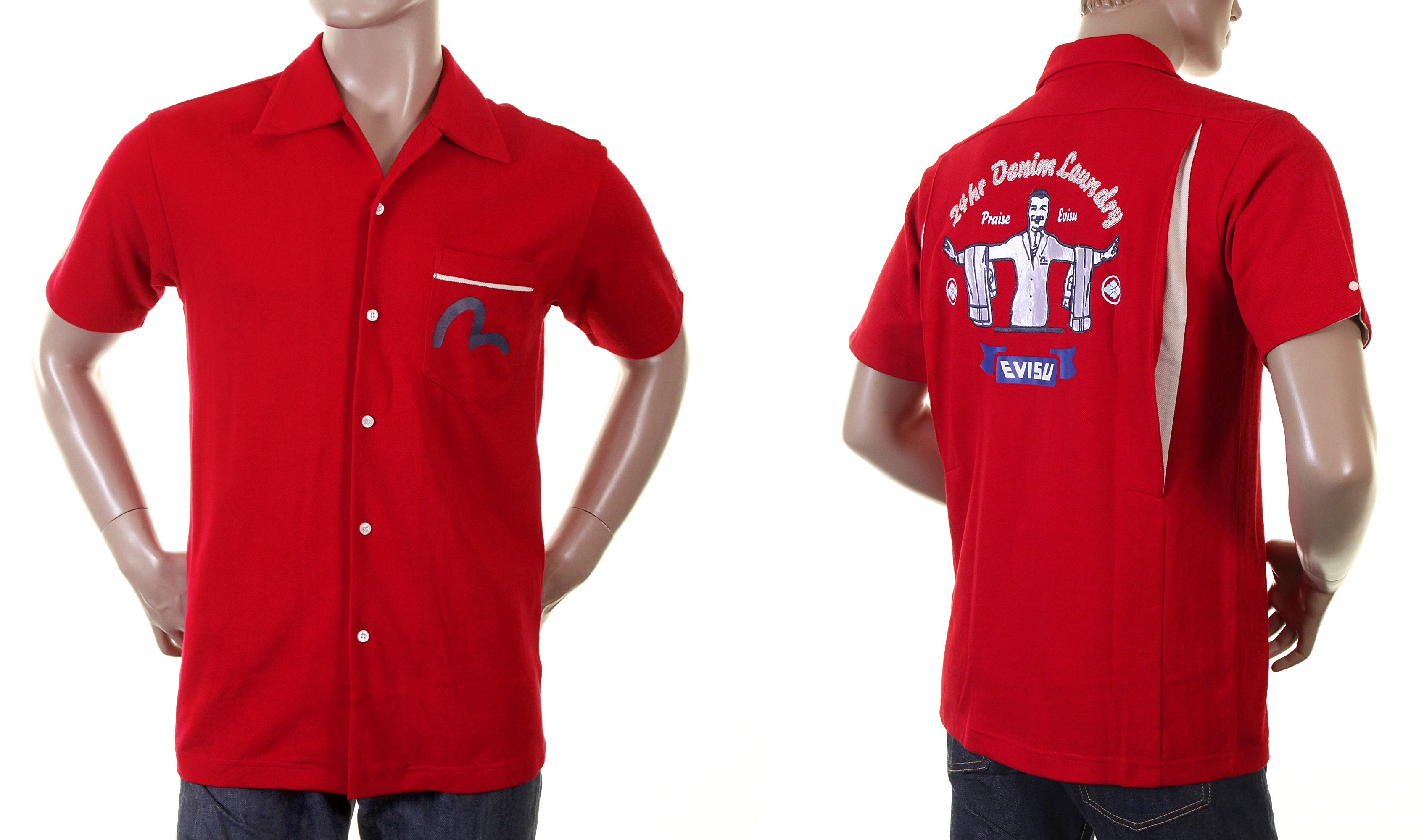red shirt from Evisu