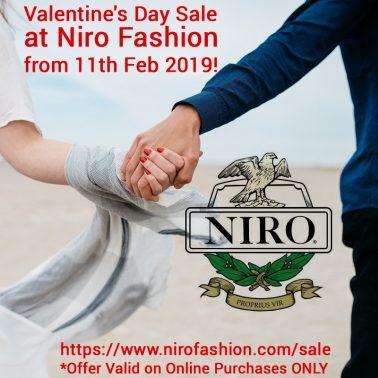 Special Valentine's Day Sale at Niro Fashion
