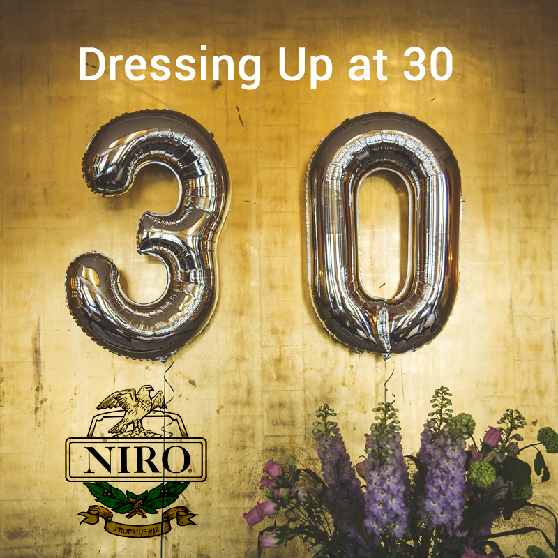 Dressing Up at 30 with approprite apparel