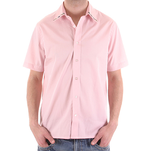 Short Sleeve Pink Shirt from Aquascutum