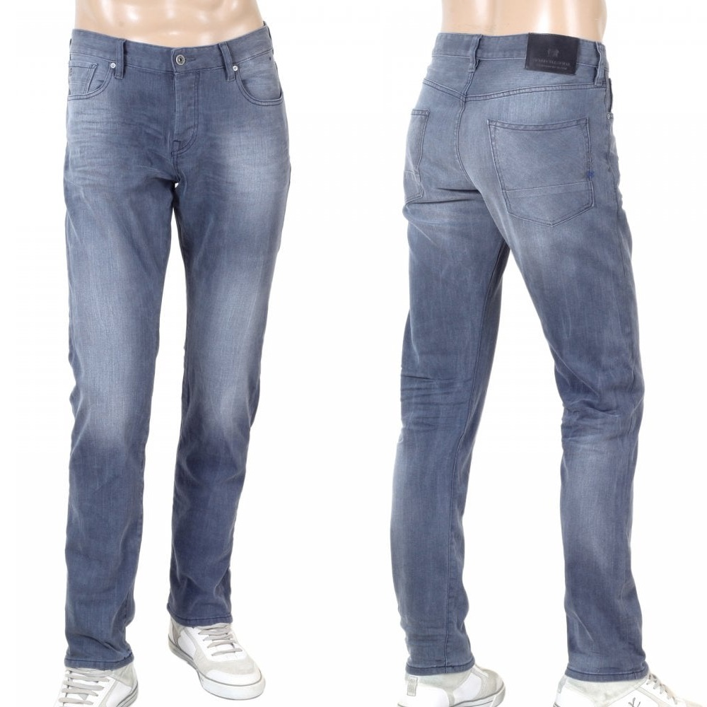 Scotch & Soda grey denim jeans
