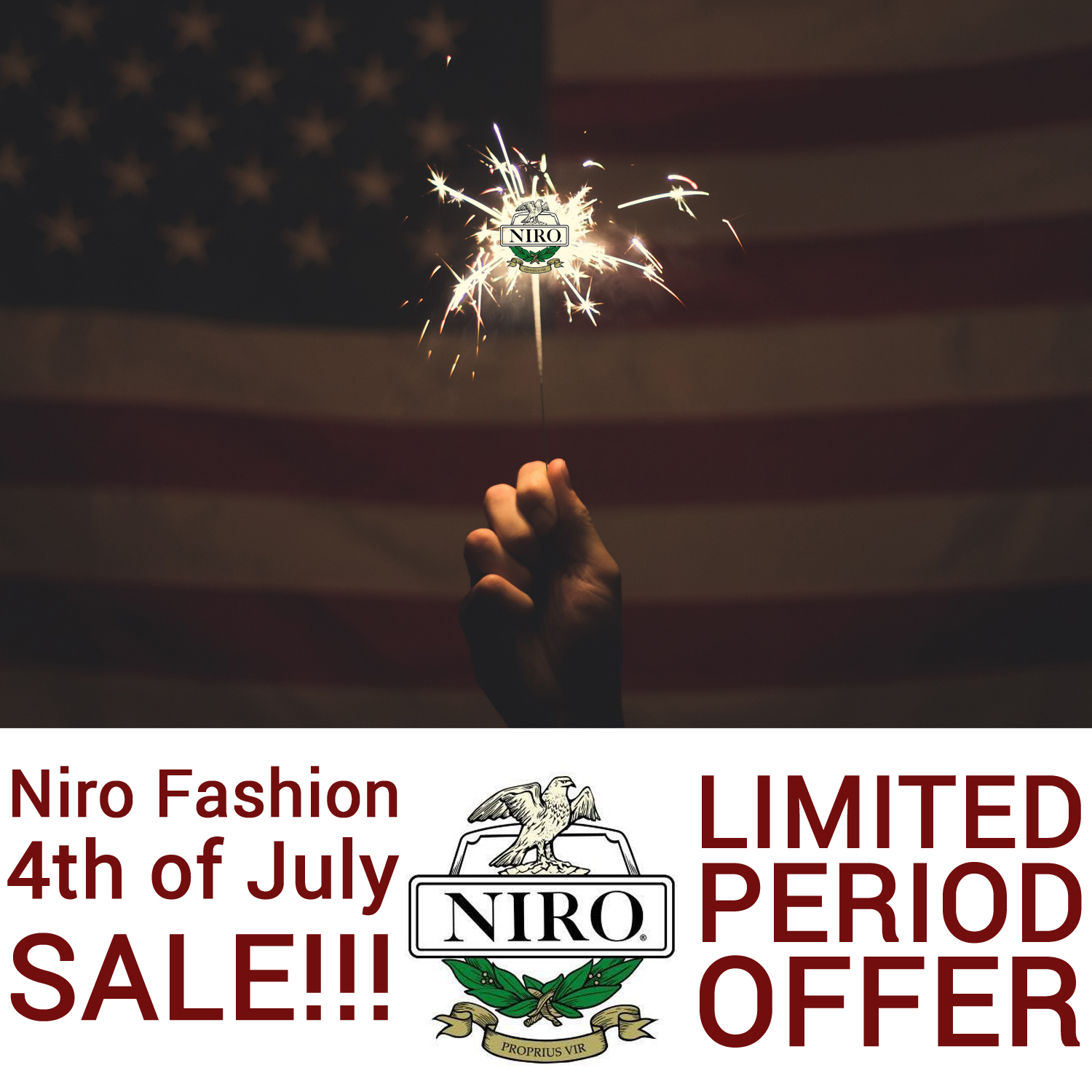 Niro Fashion Half Price Sale