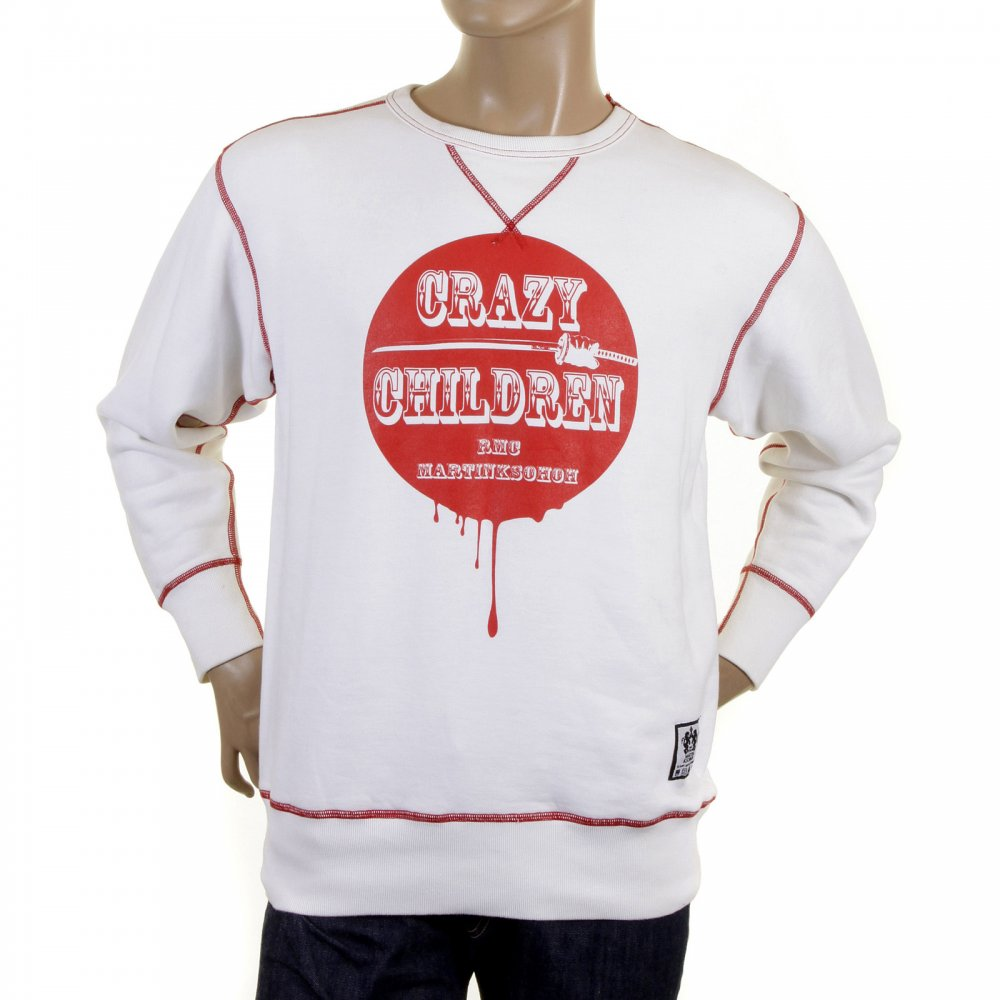 RMC Jeans sweatshirt in White