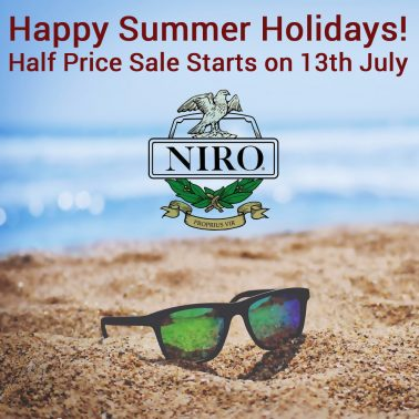 Happy Summer Holidays! Half Price Sale Starts on 13th July
