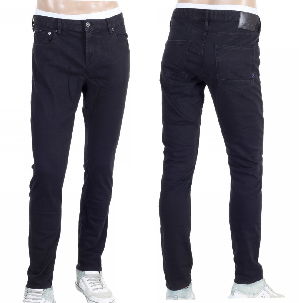 mens denim jeans in black