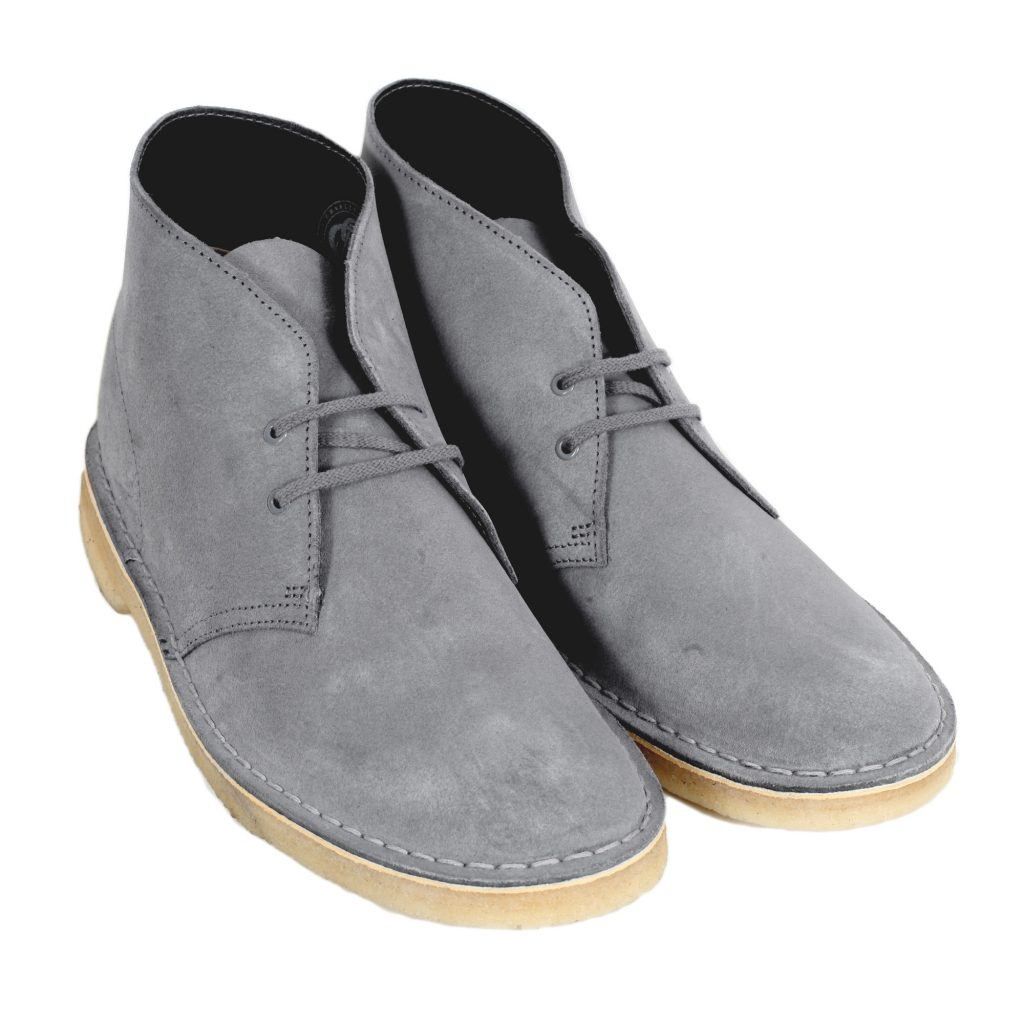 Clarks Originals Soft Blue Grey Desert Boots