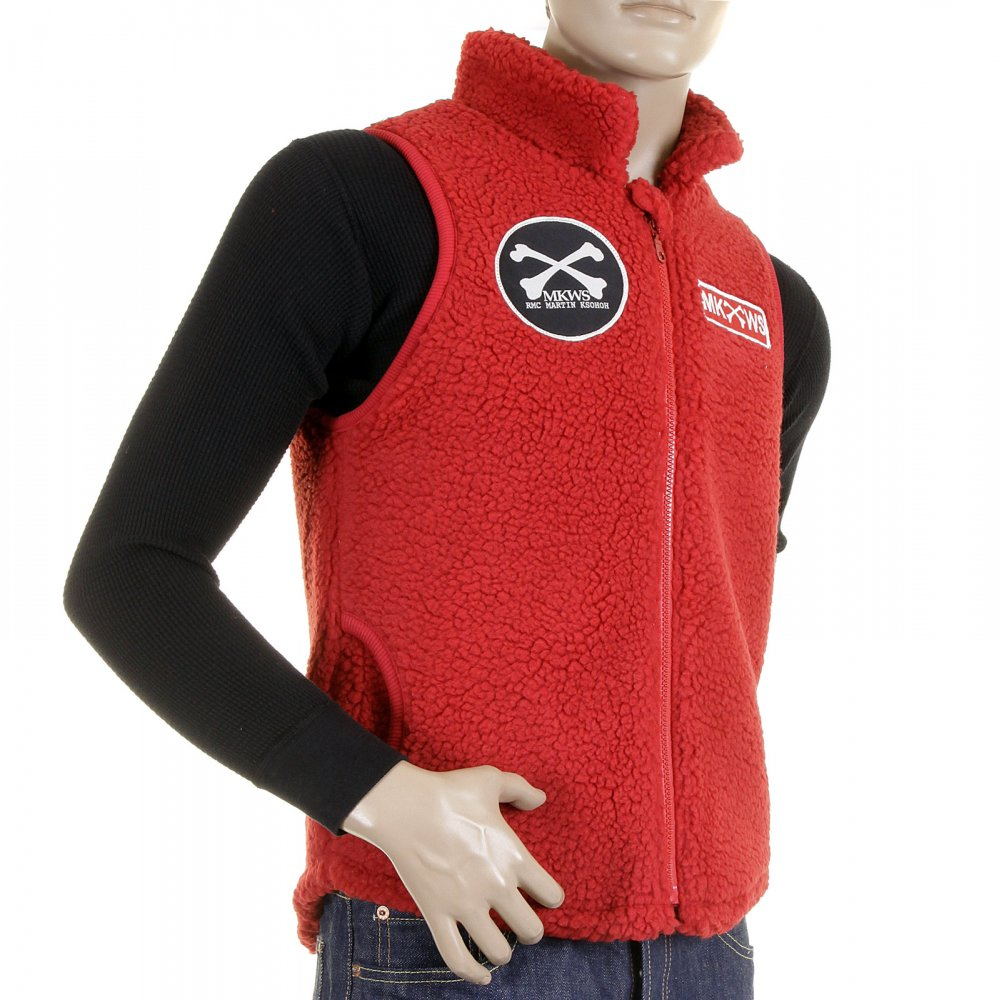 RMC MKWS Red Gilet for men
