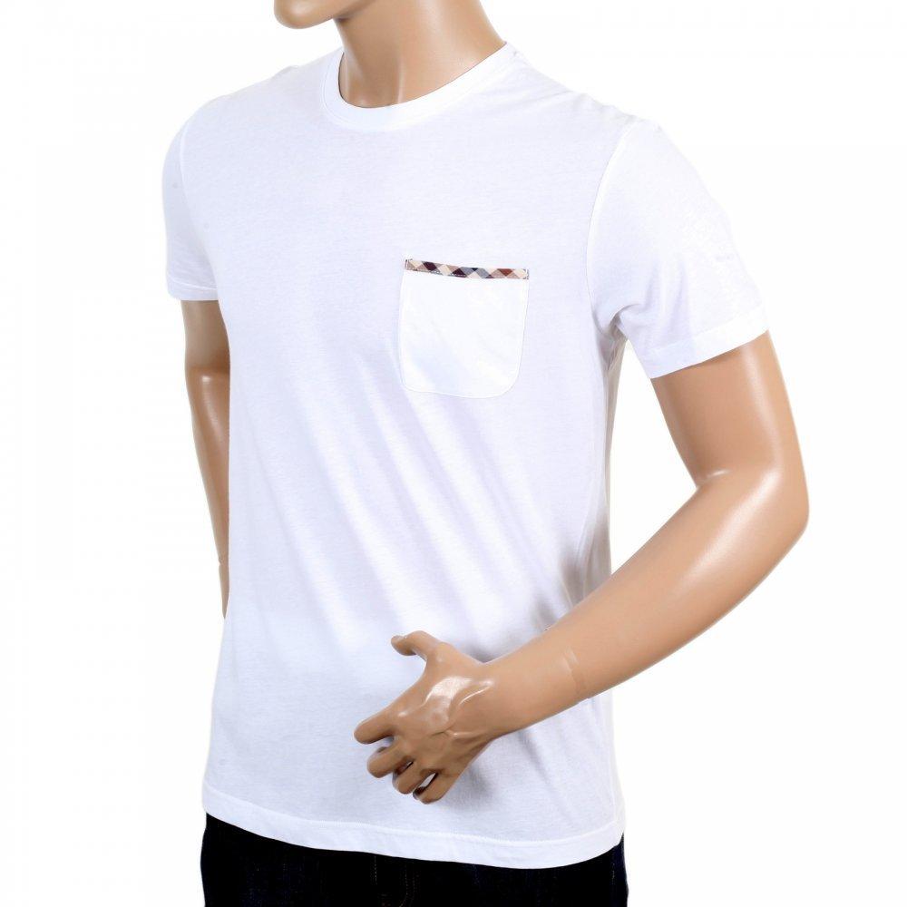Aquascutum white t-shirt