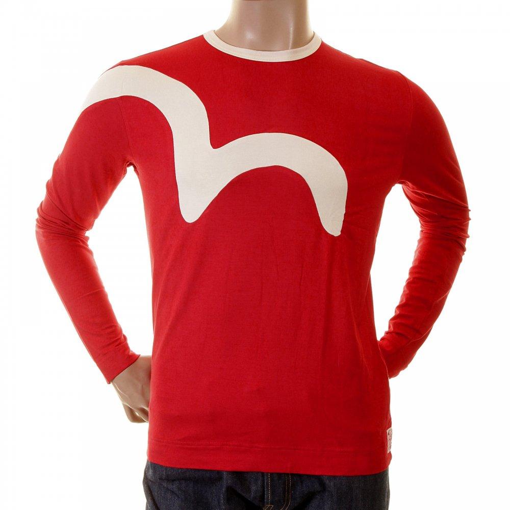 Evisu t-shirt in red