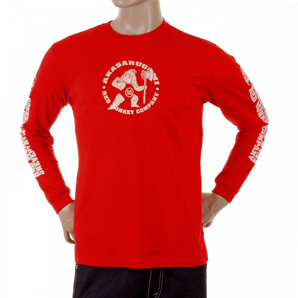 RMC MKWS t-shirt in red