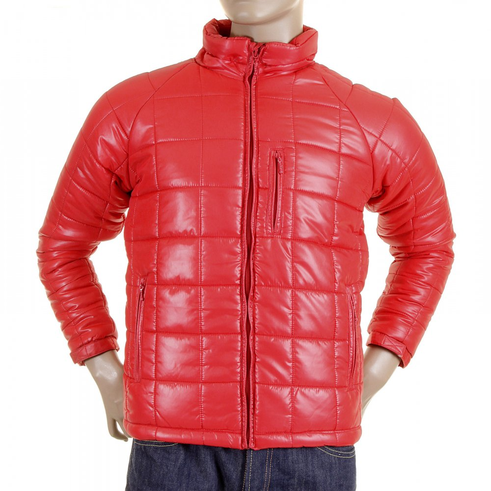 RMC MKWS puffer jacket red