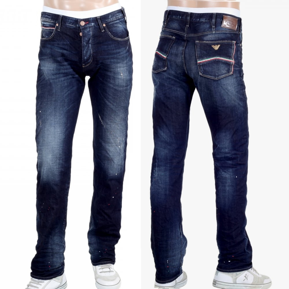 Armani stretch denim jeans for men