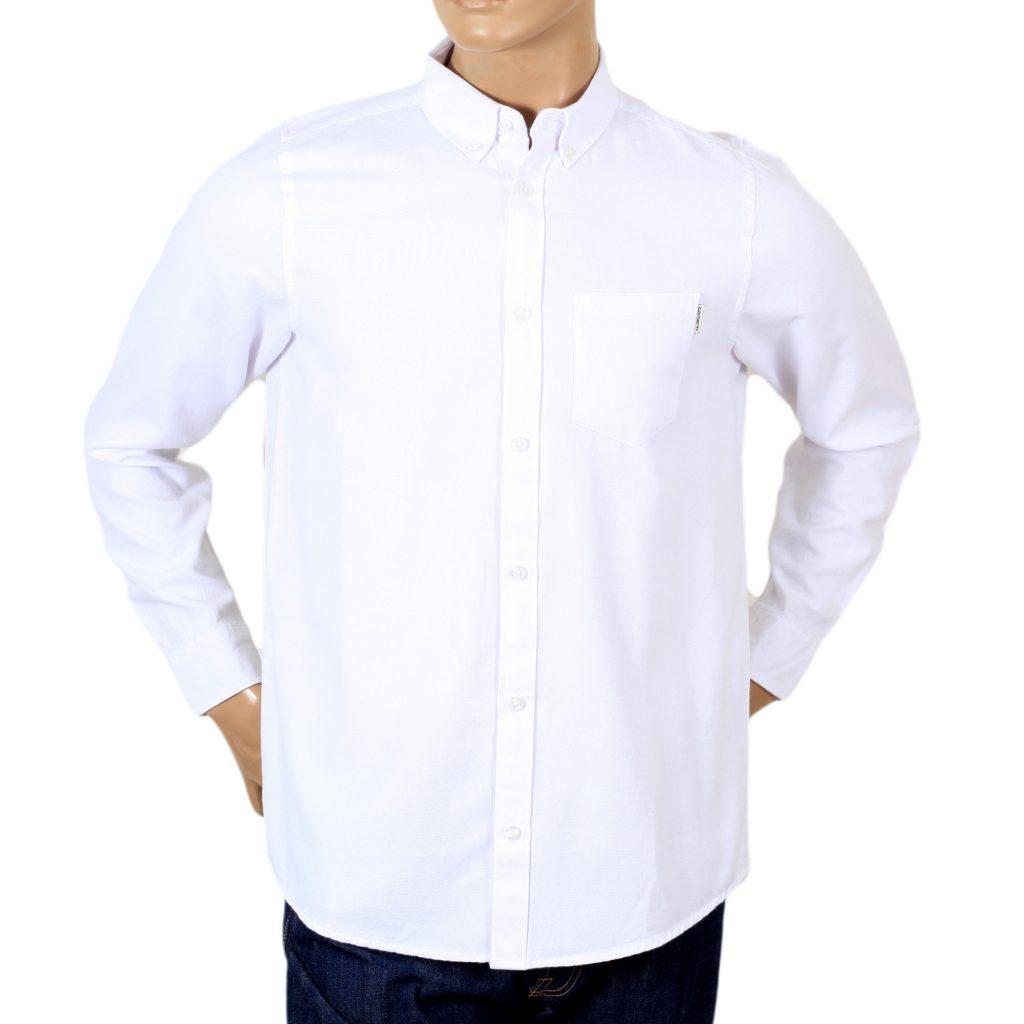 Mens Regular Fit Shirt in White