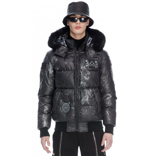bomber jacket from Moose Knuckles