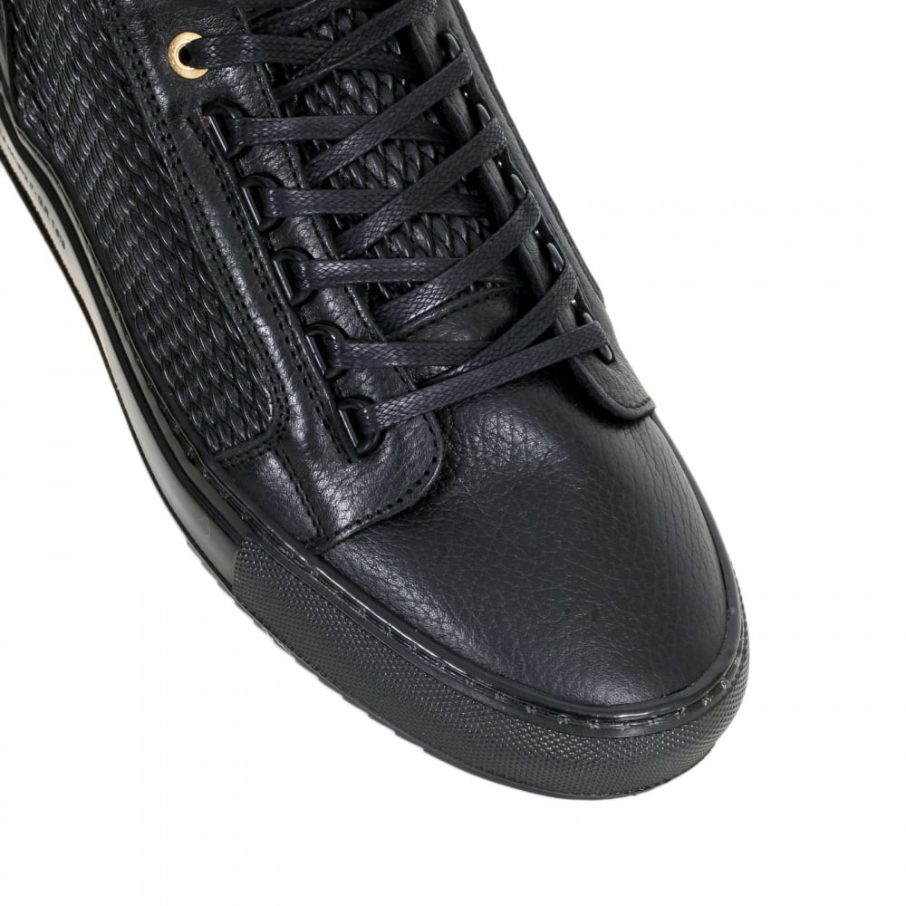 Shop For Android Homme Trainers Made From Black Leather